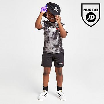 adidas Originals Tie Dye T-Shirt/Shorts Set Baby