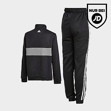 adidas 1/4 Zip Poly Trainingsanzug Kinder