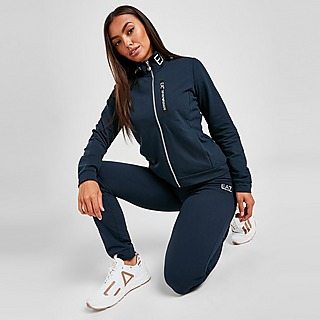 Emporio Armani EA7 Logo Zip Trainingsanzug Damen