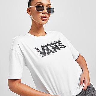 Vans Rose Logo Crop T-Shirt Damen