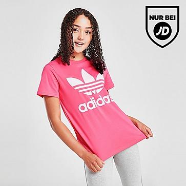 adidas Originals Girls' Trefoil Boyfriend T-Shirt Kinder