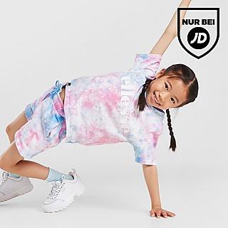Ellesse Girls' Azela Tie Dye T-Shirt/Shorts Set Kleinkinder