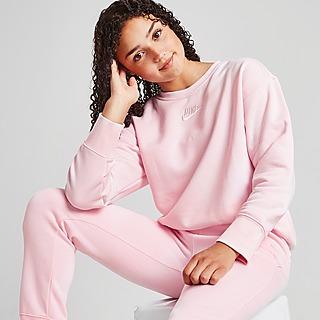 Nike Girls' Club Boyfriend Crew Sweatshirt Kinder