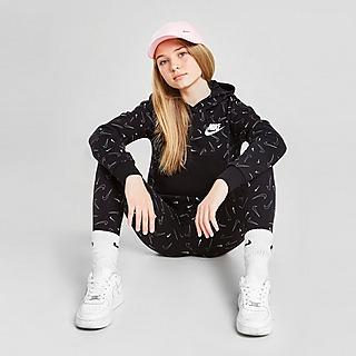 Nike Nike Sportswear Fleece-Hoodie mit Print für Kinder (Mädchen)