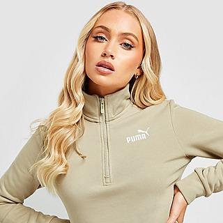 Puma Core Fleece 1/4 Zip Sweatshirt Damen