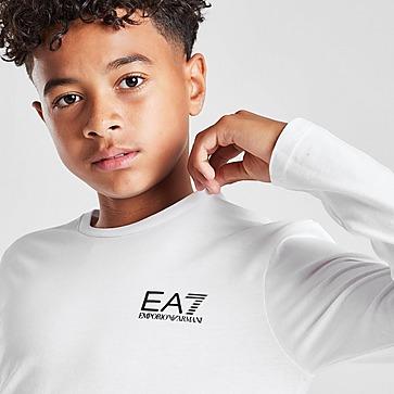 Emporio Armani EA7 Core Logo Long Sleeve T-Shirt Kinder