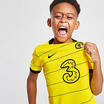 Nike Chelsea FC 2021/22 Away Kit Kleinkinder