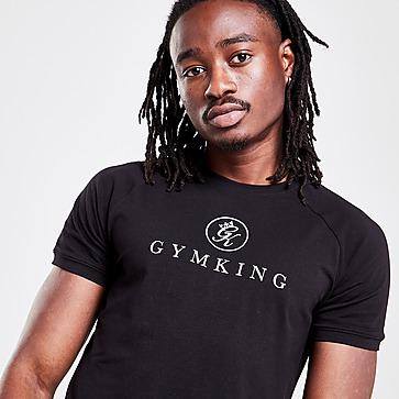 Gym King Sport Pro Logo T-Shirt Herren