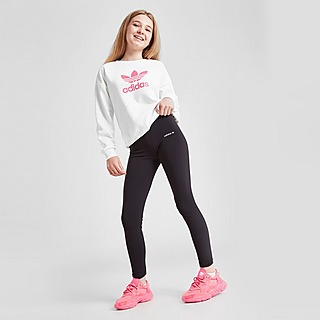 adidas Originals Girls' Small Trefoil Leggings Kinder