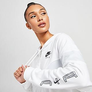 Nike Air Full Zip Crop Hoodie