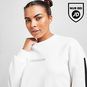 Calvin Klein Performance Tape Crew Sweatshirt Damen