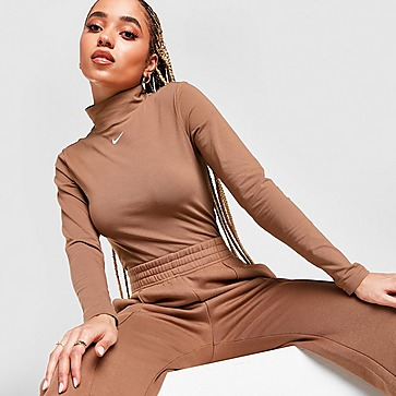Nike Essential Mock Langarmshirt Damen