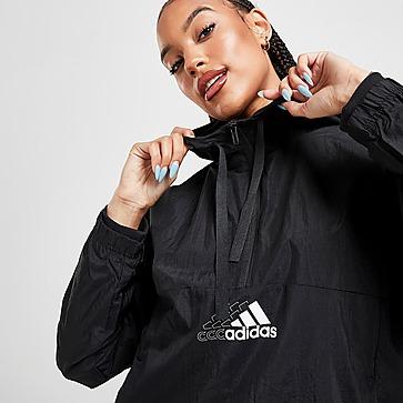 adidas Badge of Sport Woven 1/4 Zip Jacke Damen