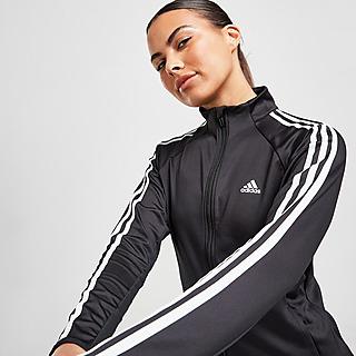 adidas Badge Of Sport 3-Stripes Full Zip Trainingsoberteil Damen