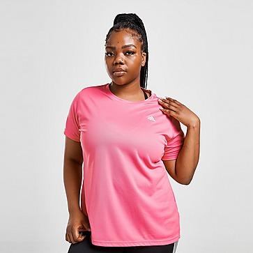 adidas Badge Of Sport Plus Size Training T-Shirt Damen