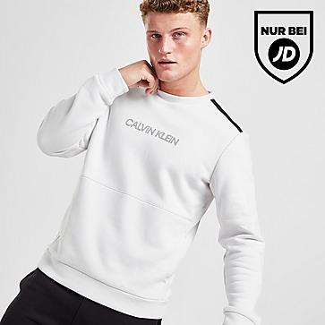 Calvin Klein Central Logo Tape Crew Sweatshirt Herren