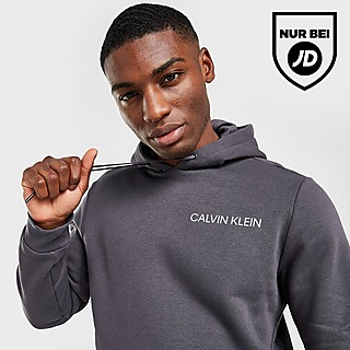 Calvin Klein Core Reflective Logo Hoodie Herren