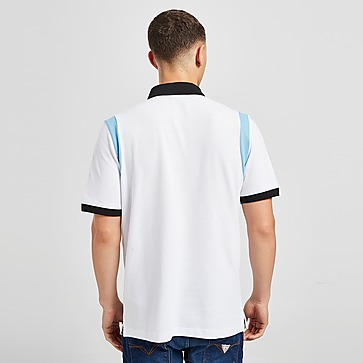 Macron Cardiff Blues 2021/22 Travel Poloshirt Herren
