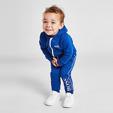 BOSS Small Logo Fleece Full Zip Trainingsanzug Baby