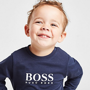 BOSS Large Logo Langarmshirt Baby