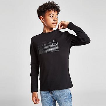 BOSS Essential Logo Long Sleeve T-Shirt Kinder