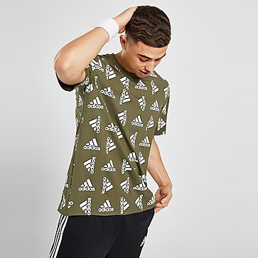 adidas Badge of Sport All Over Print T-Shirt