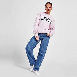 Levis High Waist Straight Jeans Damen