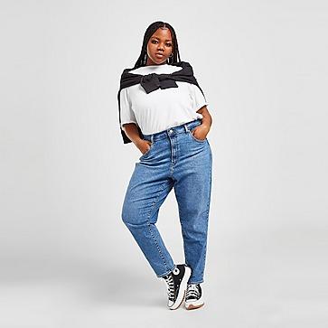 Levis High Waist Mom Plus Size Jeans Damen