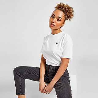 Fred Perry Small Logo Ringer T-Shirt Damen