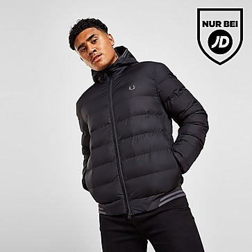 Fred Perry Twin Tipped Bubble Hooded Jacke