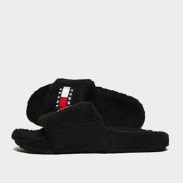 Tommy Jeans Flag Fur Slides Damen