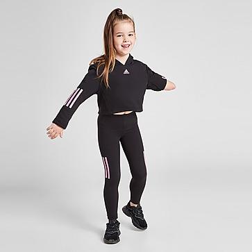 adidas Girls' Sport Hoodie/Leggings Set Kleinkinder