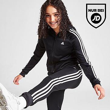 adidas Girls' Badge Of Sport Full Zip Poly Trainingsanzug Kinder