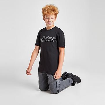 adidas Linear Outline Logo T-Shirt Kinder