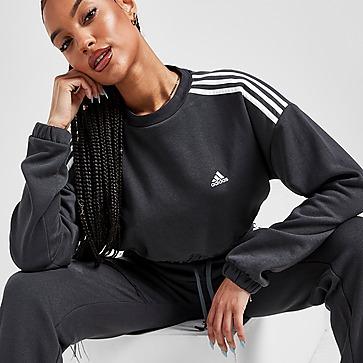 adidas Hyperglam Crop Sweatshirt Damen