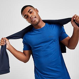 BOSS Curved Logo Short Sleeve T-Shirt Herren