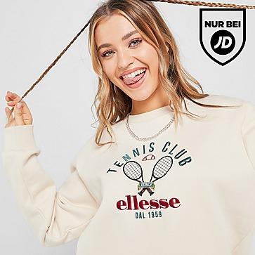 Ellesse Tennis Embroidered Crew Sweatshirt Damen