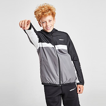 adidas Originals Reversible Windbreaker Jacke Kinder