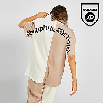 Supply & Demand Splice Boyfriend T-Shirt Damen