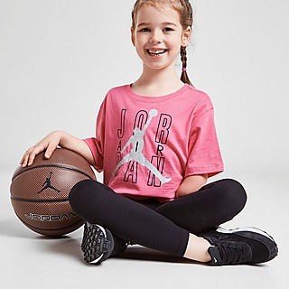 Jordan Girls' Jumpman Shine T-Shirt Kleinkinder