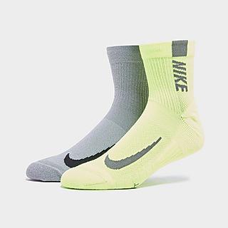 Nike 2-Pack Running Ankle Socken