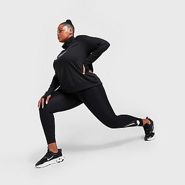 Nike Double Swoosh Plus Size Running Leggings Damen