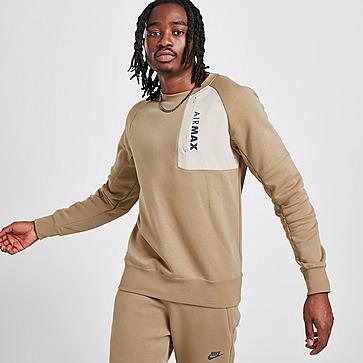 Nike Air Max Fleece Crew Sweatshirt Herren
