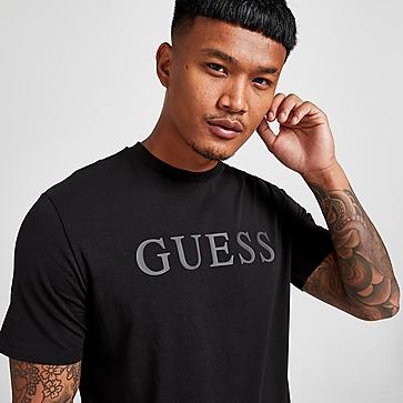 GUESS Tonal Emblem T-Shirt Herren