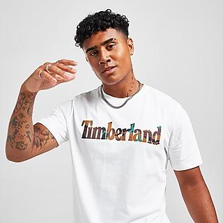 Timberland Camo Infill Logo T-Shirt Herren