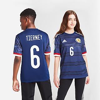 adidas Scotland 2020 Tierney #6 Home Shirt Kinder