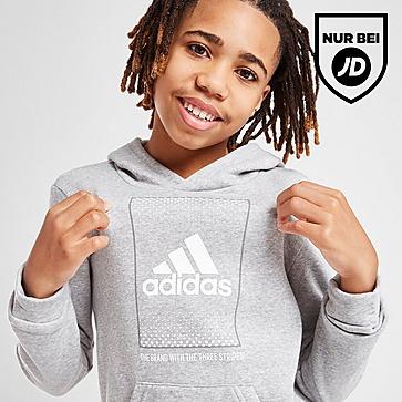 adidas Badge of Sport Fade Overhead Hoodie Kinder