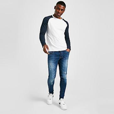 Brave Soul Distressed Skinny Jeans Herren