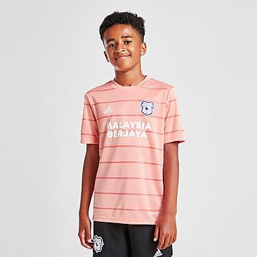 adidas Cardiff City FC 2021/22 Away Shirt Kinder