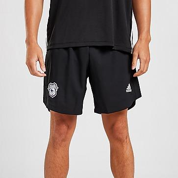 adidas Cardiff City FC 2021/22 Away Shorts Herren